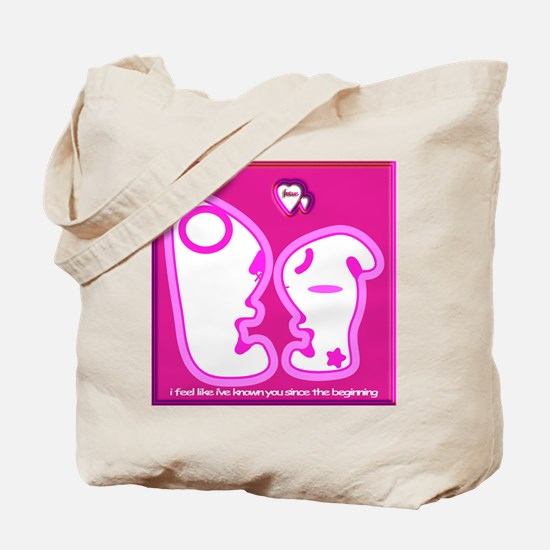 Cute Fetus Love Tote Bag