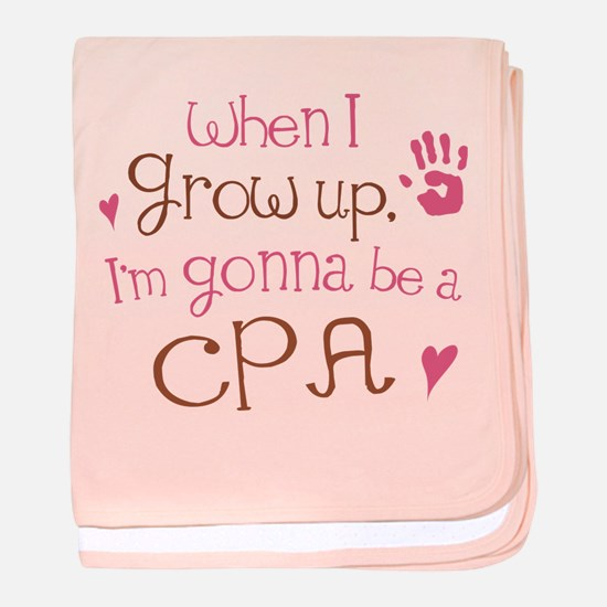 Kids Future Cpa baby blanket
