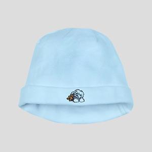 Coton Teddy baby hat