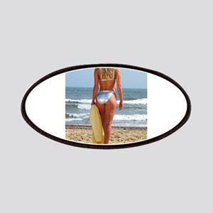 Girl On Beach Patches