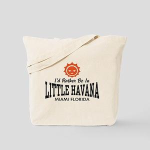 Little Havana Fl Tote Bag