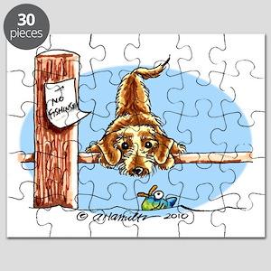 Wirehair Dachshund Lover Puzzle
