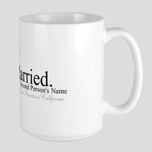 Finally Married Large Mug