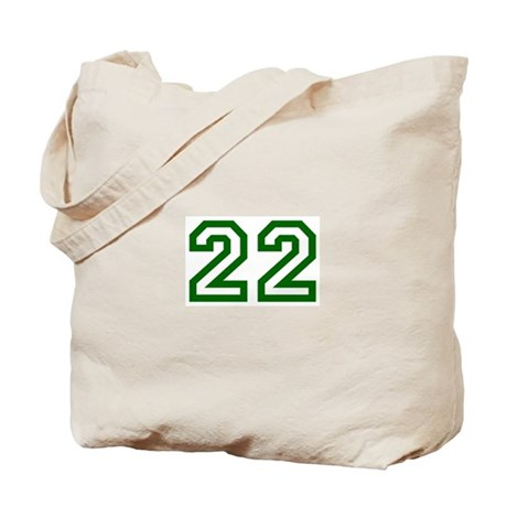 Number 22 Tote Bag