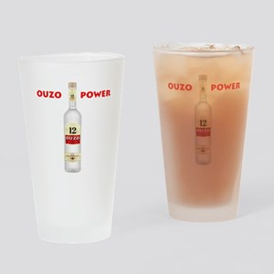 Ouzo Power Drinking Glass