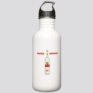 Ouzo Power Stainless Water Bottle 1.0L