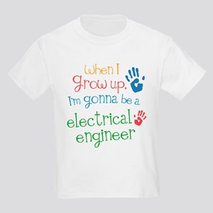 Kids Future Electrical Engineer Kids Light T-Shirt