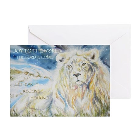 Let Earth Receive Her King Greeting Cards(20)