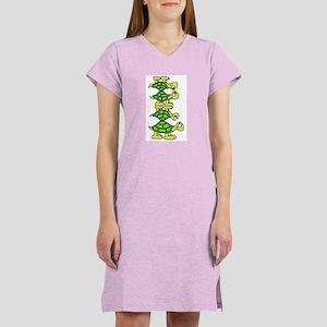 Turtle Stack Women's Pink Nightshirt