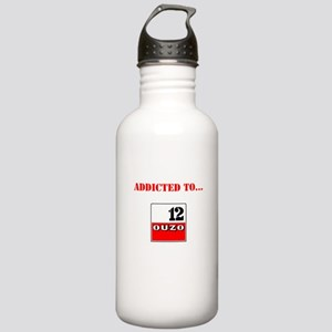 Addicted to Ouzo Stainless Water Bottle 1.0L