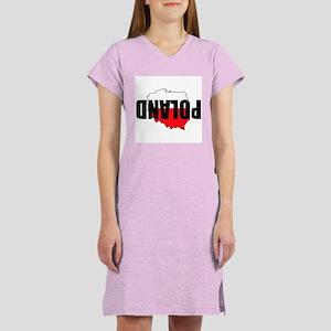 Poland Women's Nightshirt