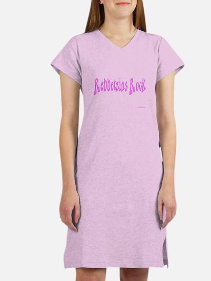 Rebbetzins Rock Religion Women's Nightshirt