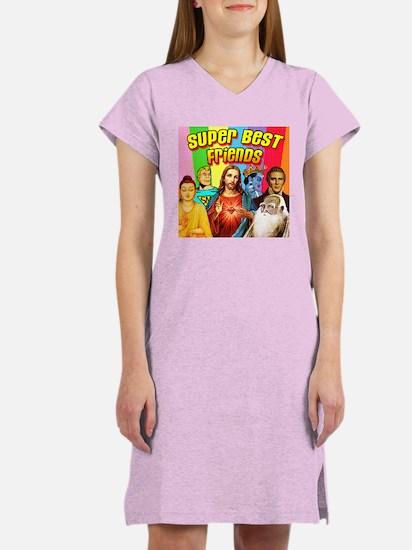 Super Best Friends Women's Nightshirt