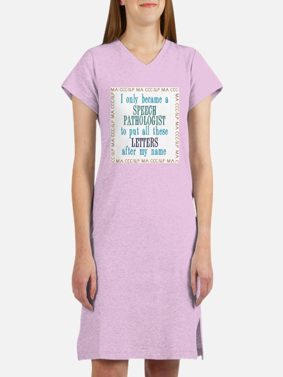 SLP LETTERS Women's Nightshirt