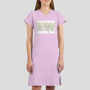 Cum Dumpster Women's Pink Nightshirt