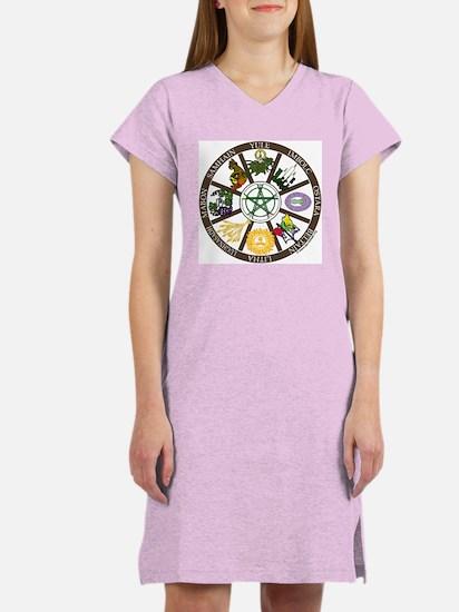 Wheel of the Year Women's Nightshirt