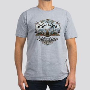 My Addiction Men's Fitted T-Shirt (dark)