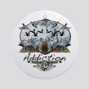My Addiction Ornament (Round)