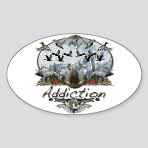 My Addiction Sticker (Oval)