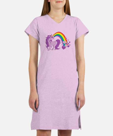 GIRLY UNICORN Women's Nightshirt