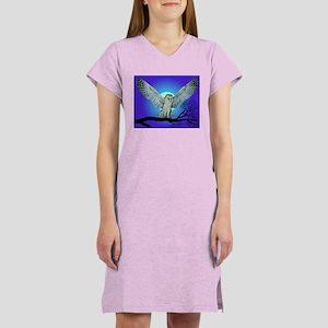 Owl in Flight Women's Nightshirt