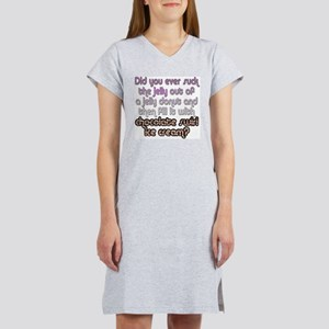 Did You Ever Suck The Je... Women's Nightshirt