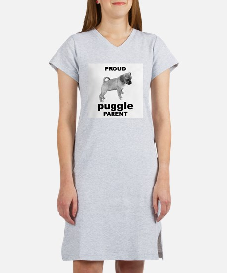 Cool Puggle owners Women's Nightshirt