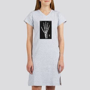 Hand x-ray Women's Pink Nightshirt