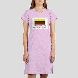 Lithuanian Twin-Perfect Women's Nightshirt