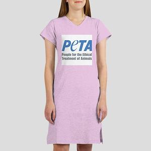 PETA Logo Women's Nightshirt