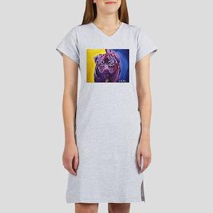 Pug #2 Women's Nightshirt