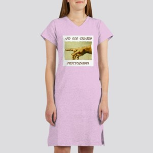 And God Created Proctologists Women's Nightshirt