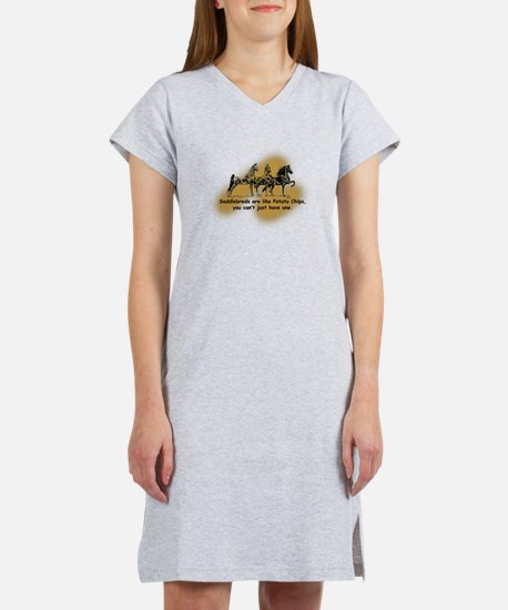 Cute American saddlebred Women's Nightshirt