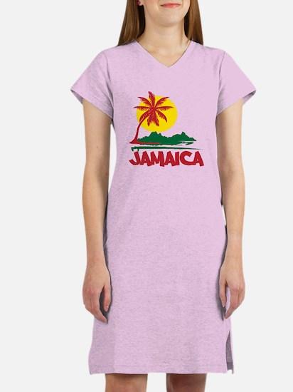 Jamaica Sunset Women's Nightshirt