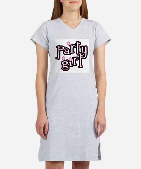 Party Girl Women's Pink Nightshirt