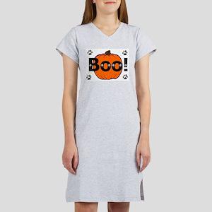 Happy Halloween, Boo! Women's Nightshirt