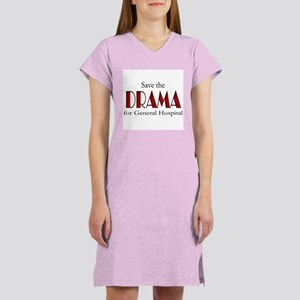 Drama on General Hospital Women's Nightshirt