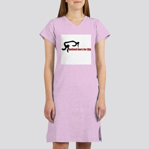 Behind bars for life Women's Nightshirt