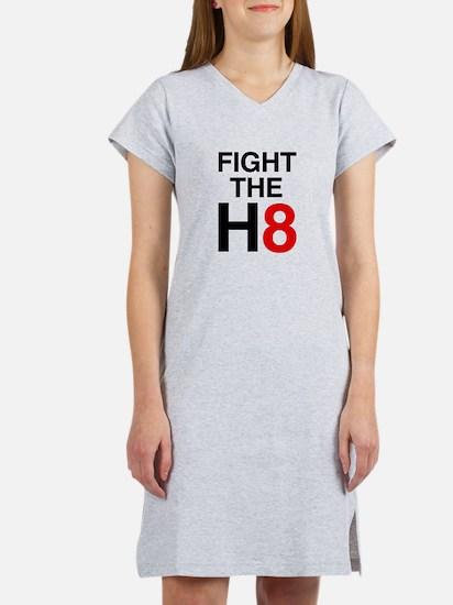 Fight the H8 Women's Nightshirt