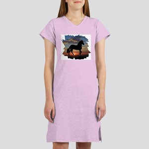 Paso Fino Sunset Women's Nightshirt