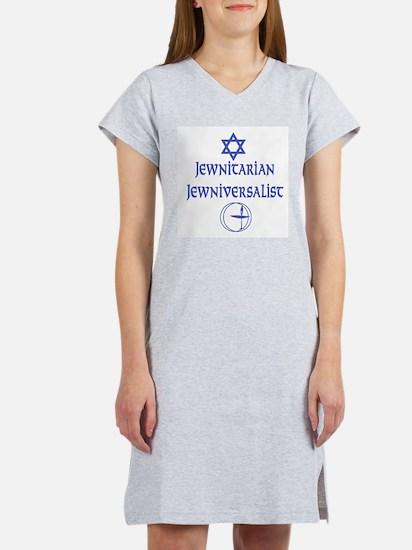 JewNitarian JewNiversalist Women's Pink Nightshirt