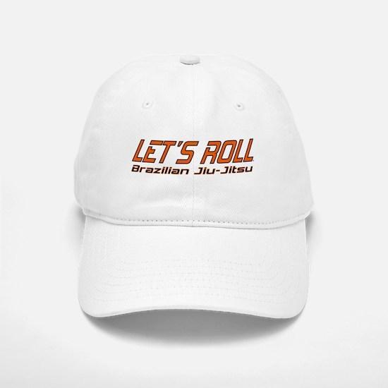 Let's Roll BJJ Baseball Baseball Cap