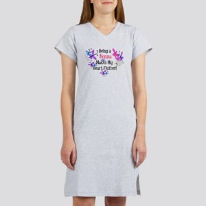 Nonna Heart Flutter Women's Nightshirt