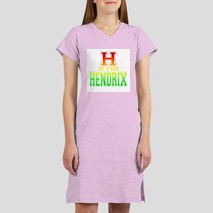 H is for Hendrix Women's Nightshirt