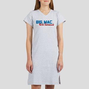 Big Mac and the Barracuda Women's Nightshirt