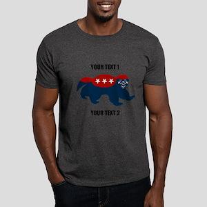 Patriotic Honey Badger Dark T-Shirt