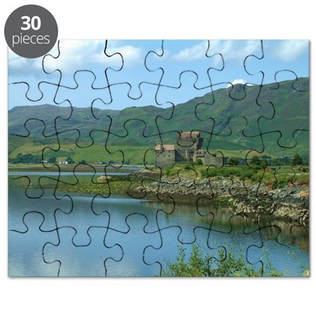 Eilean Donan Castle in Scotland Puzzle