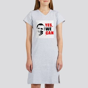 Obama Yes, We Can Women's Nightshirt