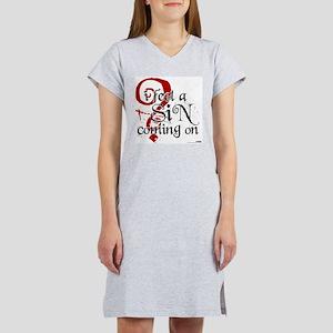 Sin Women's Nightshirt