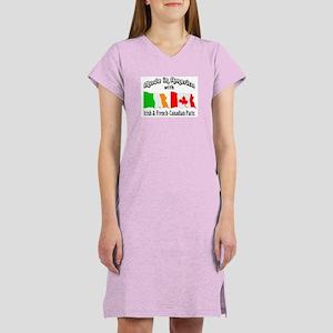 Irish & French-Canadian Parts Women's Nightshirt